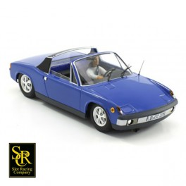 Porsche 914 Street Version Adriatic Blue.