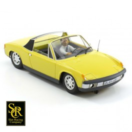 Porsche 914 Street Version Canary Yellow.