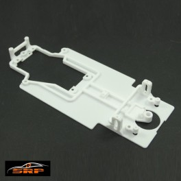 Chassis 3D Buggyra MK R08 Angular para bancada SLOT.IT . Llanta Trasera Simple. For FLY Body.