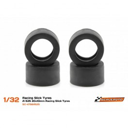 Neum. Goma A-S25 20x10mm Racing Slick