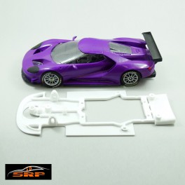 Chassis 3D Ford GT. For Morpheus Body.