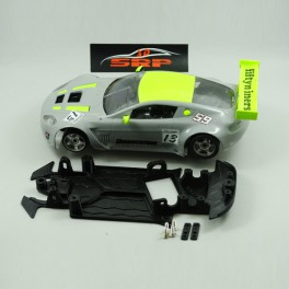 Chassis 3D Aston Martin VANTAGE in Angle. For NSR Body. (Rally).