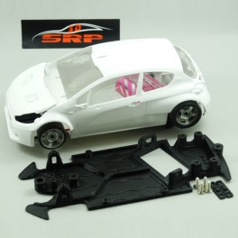 Chasis 3D Peugeot 208 in Angle. For MSC & SCA Body. (Rally).