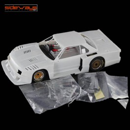 Nissan Skyline Turbo 1982 White Racing Kit